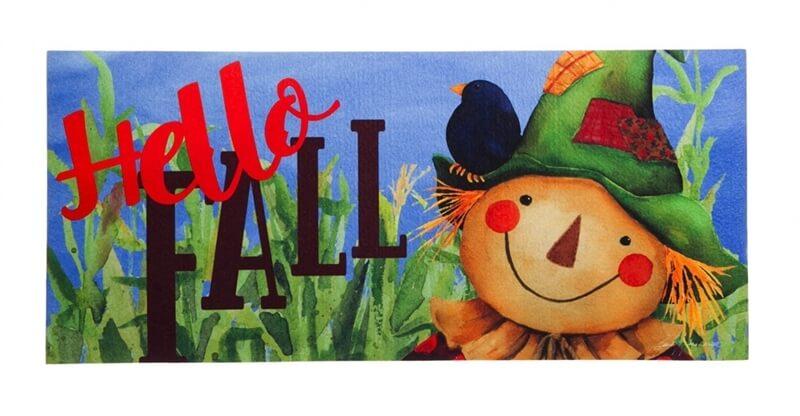 Hello-Fall-Scarecrow-Mat
