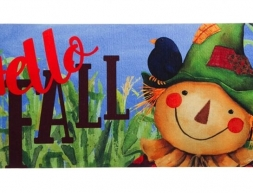 Hello-Fall-Scarecrow-Mat