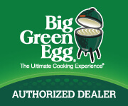 We are your Big Green Egg Authorized Dealer
